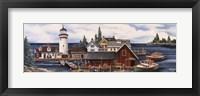 Framed Wide Harbor