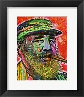 Framed Castro