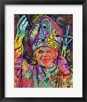 Framed Pope