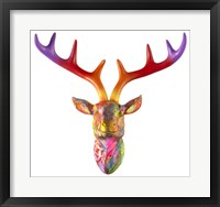 Framed Deer Bust