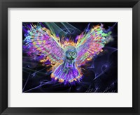 Framed Electric Owl 2