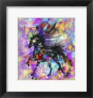 Framed Galaxy Horse