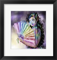 Framed Geisha Woman