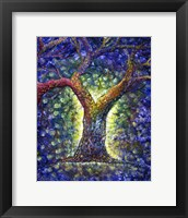 Framed Rainbow Tree