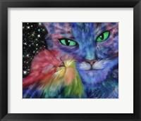 Framed Star Cats