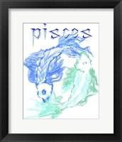 Framed Pisces 1