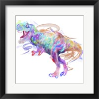 Framed Rainbow Trex 1
