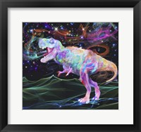 Framed Rainbow Trex 2