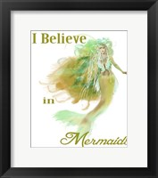 Framed I Believe In Mermaids 2