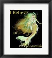 Framed I Believe In Mermaids 3