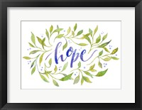 Framed Hope In You