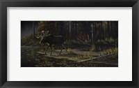 Framed Autumn Moose