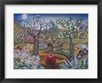 Framed Garden Of Eden