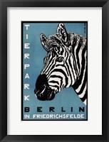 Framed Berlin Zoo