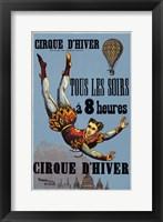 Framed Cirque D'Hiver