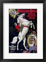 Framed Ringling Bros. World's Greatest Shows