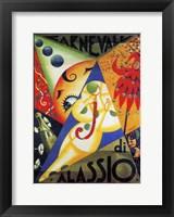 Framed Cavneval di Alassio