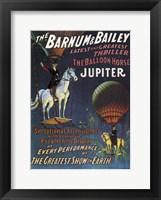 Framed Barnum & Bailey Circus
