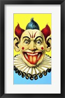 Framed Circus Clown