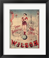 Framed Circus 1889