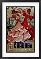 Framed Cordoba Feria De Mayo 1949