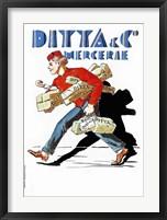 Framed Ditta & Co