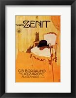 Framed Marca Zenit 1910