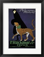 Framed P. Ruckmar & Co.