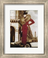 Framed L'Autodynamique 1937