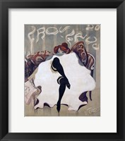 Framed Le Frou Frou