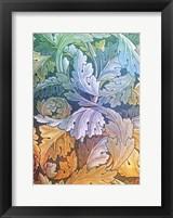 Framed Morris Acanthus 3