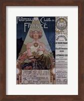 Framed Poster Livemont 1902 Car Dion Bouton
