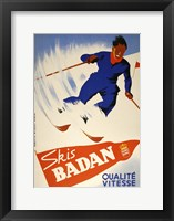 Framed Skis Badan