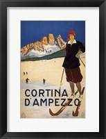 Framed Cortina D'Ampezzo