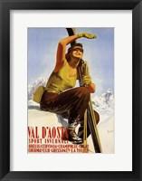 Framed Val D'Aosta