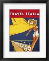 Framed Travel Italia