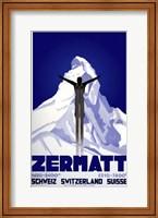 Framed Zermatt Switzerland