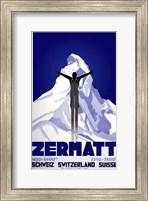 Framed Zermatt Switzerland
