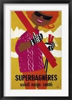 Framed Superbagneres