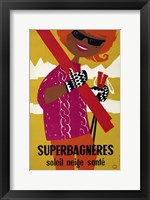 Framed Superbagneres