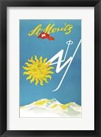 Framed St. Moritz