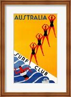 Framed Australia Surf Club