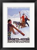 Framed Sports D'Hiver