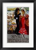 Framed Sevilla 1941