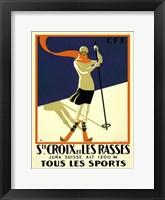 Framed Ste. Croix et Les Rasses