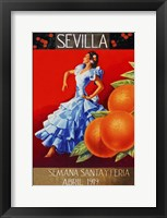 Framed Sevilla 1919