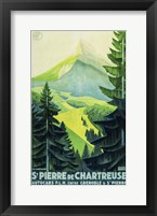 Framed St. Pierre de Chartreuse