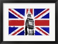Framed Big Ben Union Jack