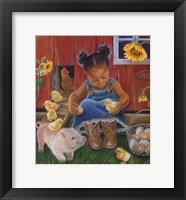 Framed Barn Babies