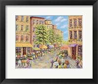 Framed Flower Street